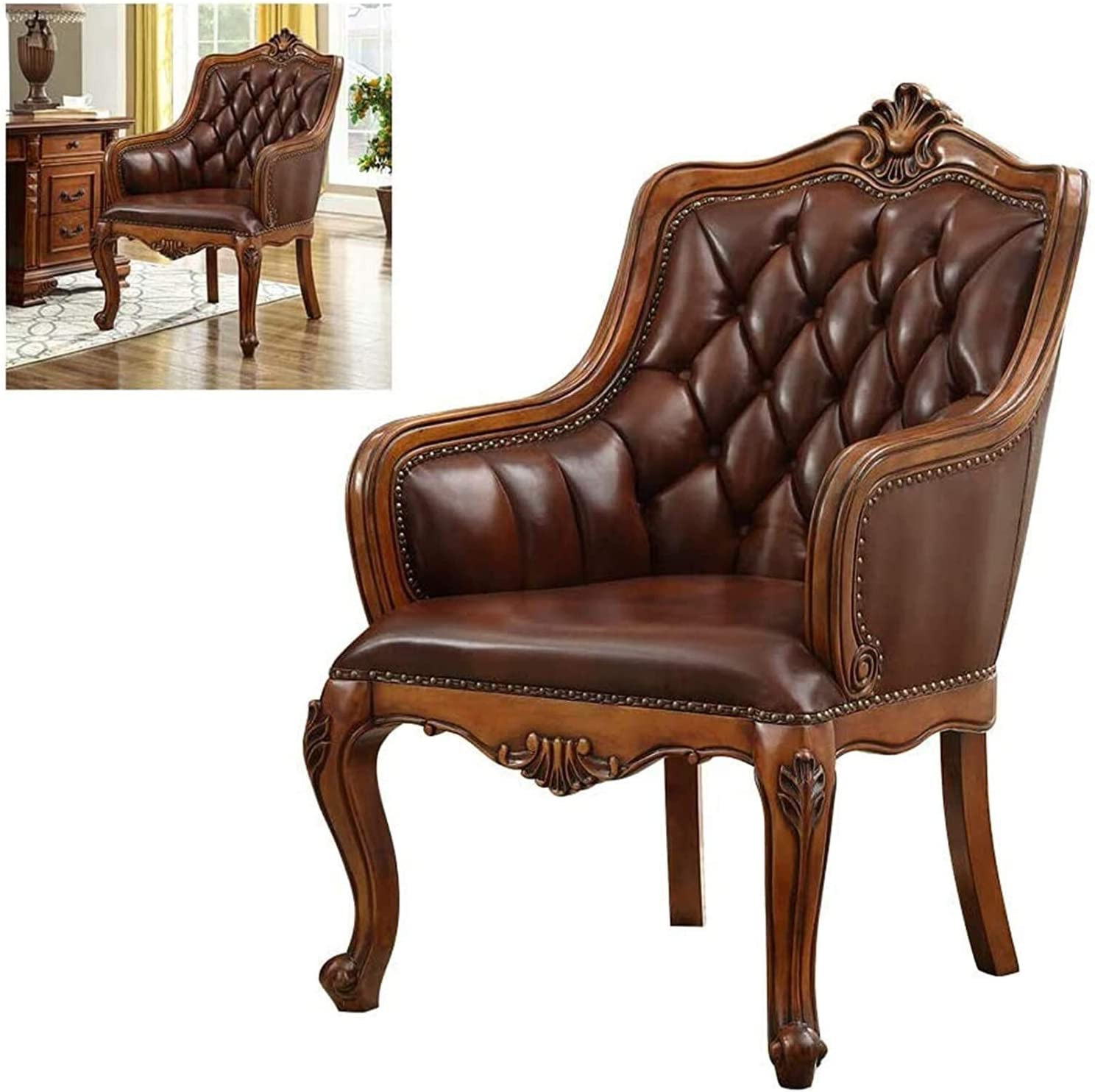 ZHANGYUEFEIFZ Chair Dining Chairs Office Pro Boss Leather Raleigh Mall
