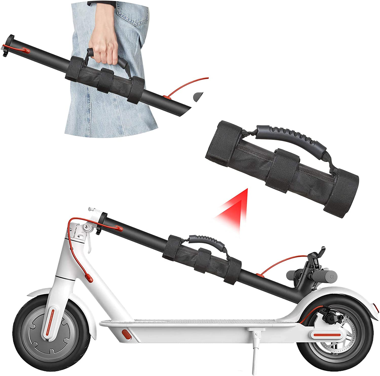 Atuka Scooter Carry Handle Mango portátil para Llevar a Mano Correas Manijas Vendaje para Xiaomi Mijia M365 Pro Ninebot Segway ES1 ES2 ES3 ES4 Scooter