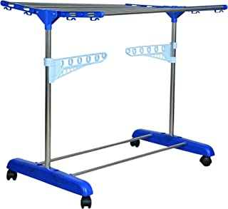 Mega Stainless Steel Indian made Cloth Drying stand for Home (1 Tier)