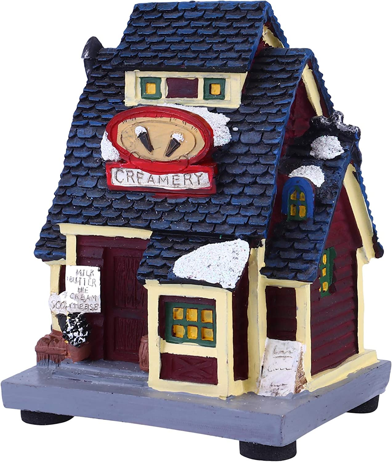 Ranking TOP2 TOYANDONA Christmas Lighted House L LED Discount mail order Light Up