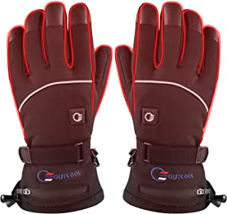 Heated Gloves for Men Women Touchscreen Electric Heated Ski Gloves