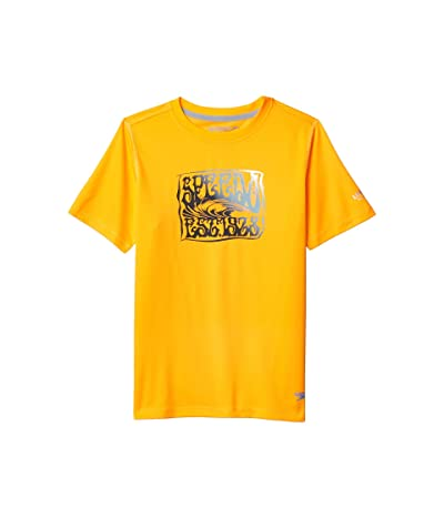 Speedo Kids Short Sleeve Graphic Swim Shirt (Little Kids/Big Kids) Boy