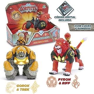 Gormiti Hyper Beast 15cm with Action Figure 7cm. One Random Model.