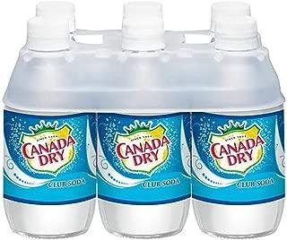 Canada Dry Club Soda Soft Drink, 10 Ounce (24 Bottles)
