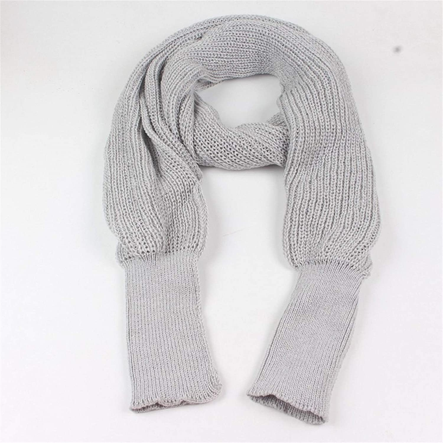 Ladies Scarf New Unisex Women Sleeves Long Cheap mail Fees free!! order specialty store fo with Knitted