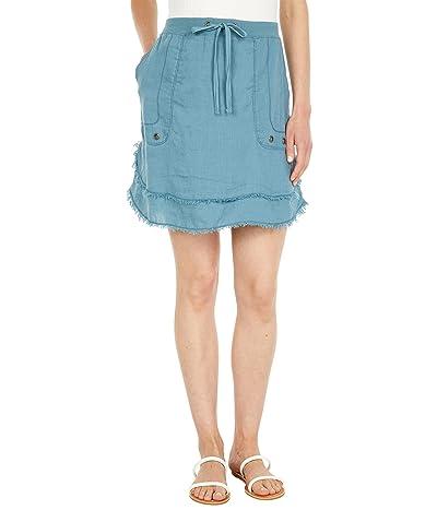 XCVI Hargen Tiered Linen Skirt