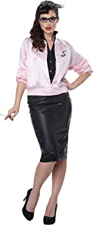 pink satin varsity jacket