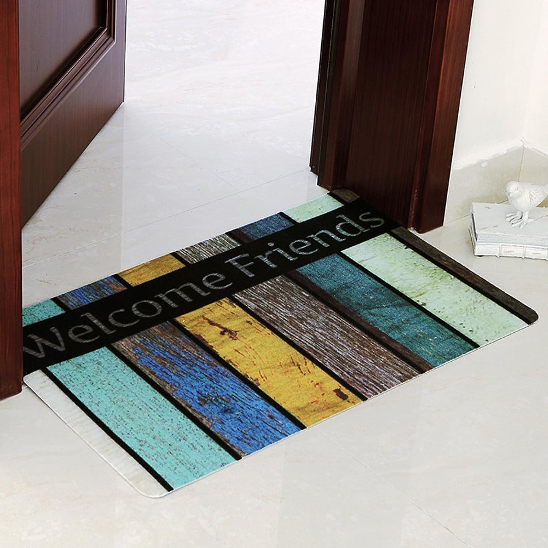 DIDIDD Antilipping Mats Doormat Door Entrance Porch Floor Mat  Water Kitchen Mats Nonlip Mat