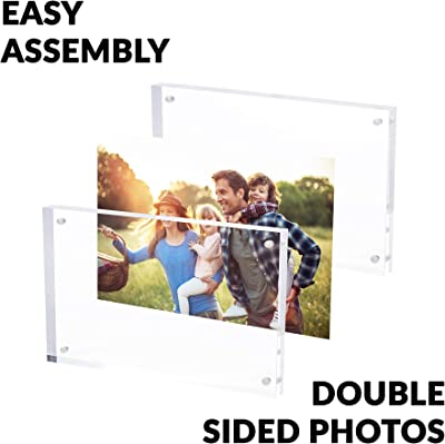 Art to Frames Double-Multimat-402-805//89-FRBW26061 Collage Frame Photo Mat Double Mat with 10-3.5x5 Openings and Espresso Frame
