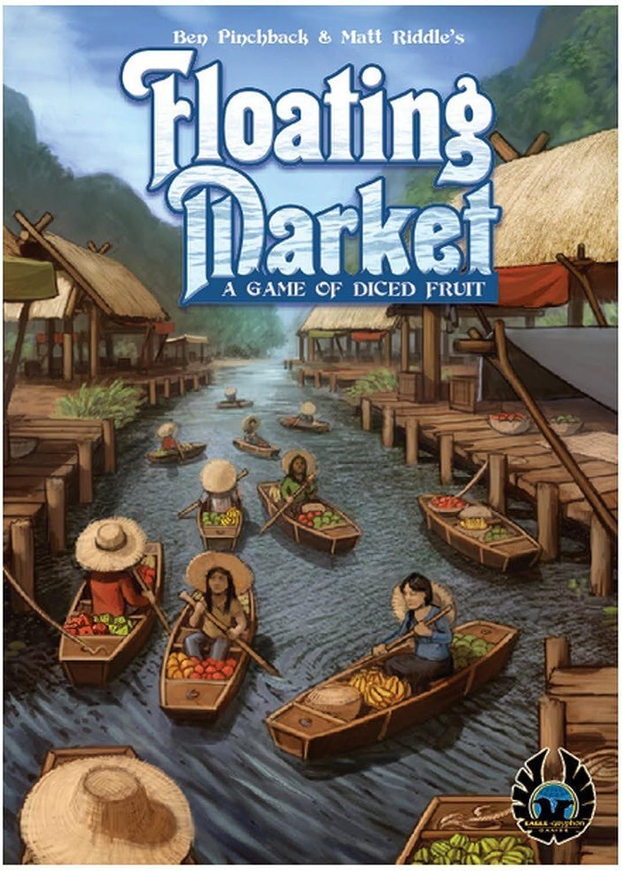 EagleGryphon Games EAG01532 Floating Market Board Game
