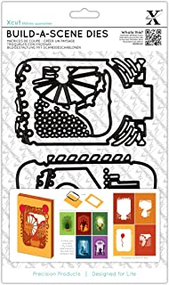 DOCrafts XC503122 Xcut Build-A-Scene Dies-Shadow Box Fairground, 5-Pack