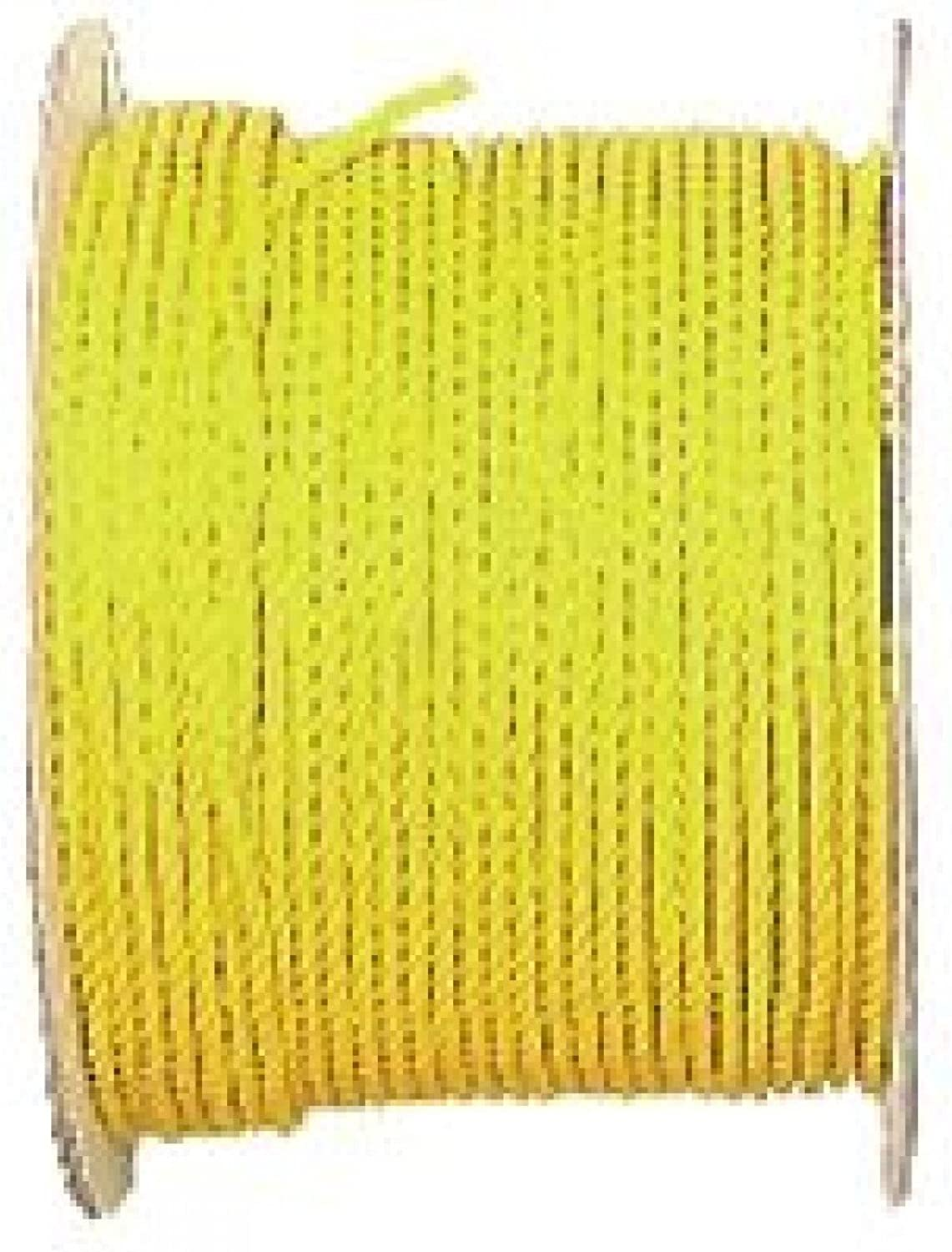 The Lehigh Group Wellington MonoFilament Twisted Rope, 5 16 in Dia X 600 Ft L, Polypropylene, 15002