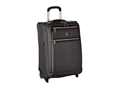 Travelpro Platinum(r) Elite 22 Expandable Carry-On Rollaboard (Vintage Grey) Luggage