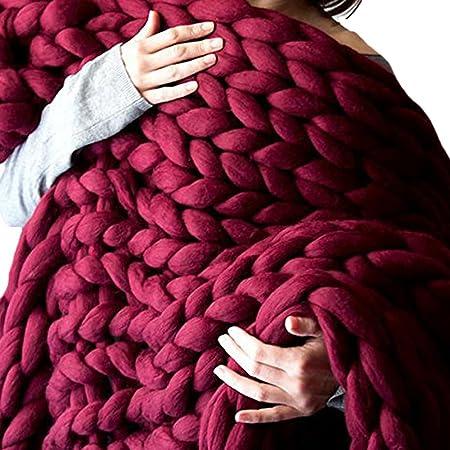 Chunky knit throw blanket Chunky blanket Gift for Her Giant afghan Wool Giant Blanket Bulky Knit Chunky Knit Lap blanket Christmas Gift