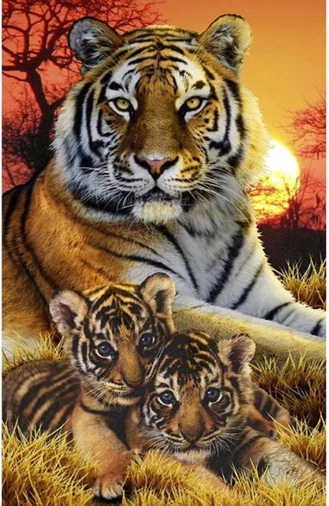 5000 Piece Cheap super Los Angeles Mall special price Puzzle -Tiger- Every Puzzles Pieces Jigsaw
