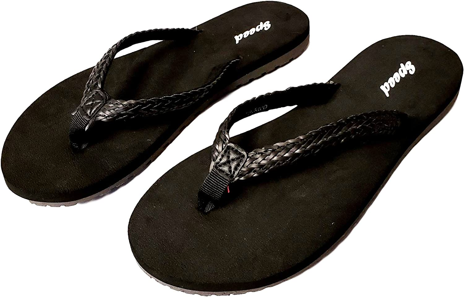Women's Braided Top Thong Style Sandal
