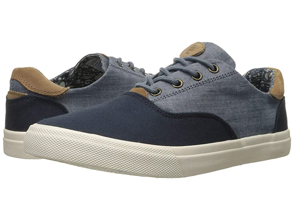 Crevo Tiller (Navy Canvas/Chambray) Men's Shoes