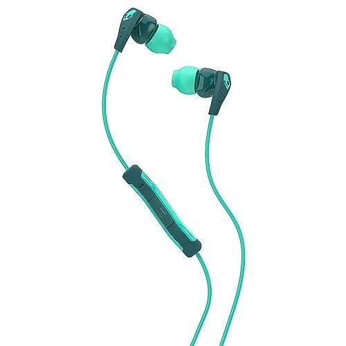 e20423400fa Skullcandy Method In-Ear Sweat Resistant Sports Earbud, Teal/Green