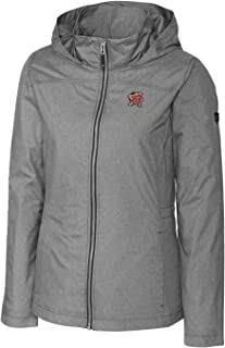 Cutter NCAA Womens Long Sleeve Panoramic Packable Jacket