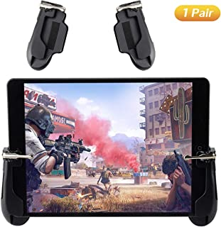 Mobile Game Controller for iPad, COCASES Sensitive Shoot Aim Tablet Gamepad Trigger Button for PUBG, Upgraded Version Comp...