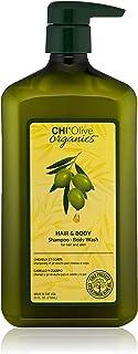 CHI Olive Organics Shampoo & Body Wash, 24 Fl Oz