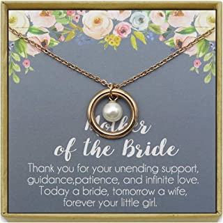 Best mother of the bride pearl necklace Reviews