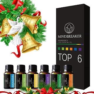 comprar comparacion Aceites Esenciales aromaterapia Set incluye parte superior 6 Set de regalo: lavanda, Naranja Dulce, menta, árbol de té, ci...
