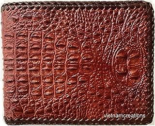 mens crocodile wallet