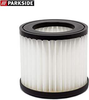 Filtro de pliegues, filtro de repuesto, apto para aspiradora en seco y húmedo Parkside