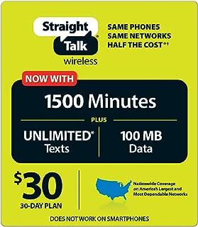 Straight Talk $30 30 Day Service Card