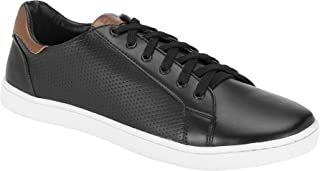 Parx Solid Black Coloured Synthetic Footwear