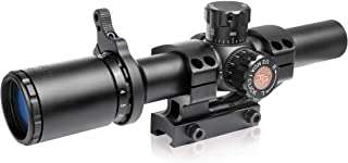 TRUGLO TRU-BRITE 30 Series Illuminated Tactical Rifle Scope - Includes Scope Mount