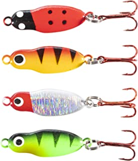 tundra tackle co firefly lighted led ice fishing spoons and jigs led battery powered glow fish lures tip ups orifice group