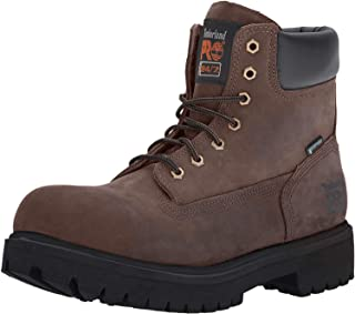"Timberland PRO 65016 Mens Direct Attach 6"" Steel Toe Boot (Wheat, 12 M US)"