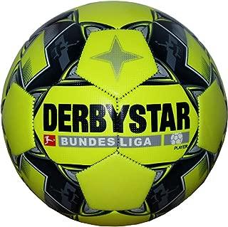 Derbystar Bundesliga Player Soccer Ball, Flourescent Yellow, 5