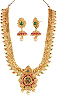Best gold plated necklace set indian Reviews