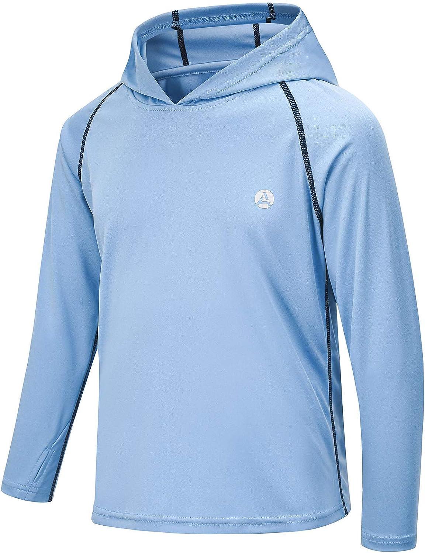 AODULO Youth Long Sleeve T Shirts Sun G Kids Rash Hoodies Max Latest item 54% OFF