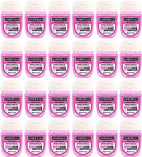 Cornells Wellness Pocket Hand Sanitizer Gel, 33ml PACK OF 24 Pink, Advanced Formula, IPA 70%, Kills 99.99% of Germs, Antis...