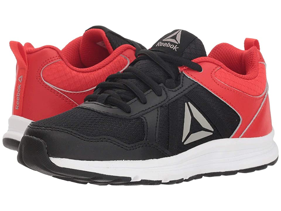 Reebok Kids Almotio 4.0 (Little Kid/Big Kid) (Black/Red/Pewter) Boys Shoes