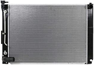 Radiator - Cooling Direct For/Fit 13256 Jun'05-06 Lexus RX330 3.3L V6 Plastic Tank Aluminum Core Japan/USA-Built With Tow Package