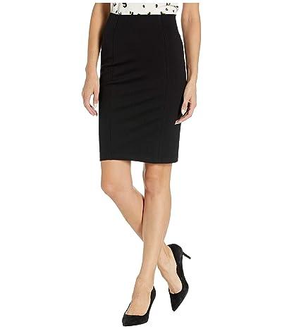 Blank NYC Ponte Pencil Skirt (Caviar) Women