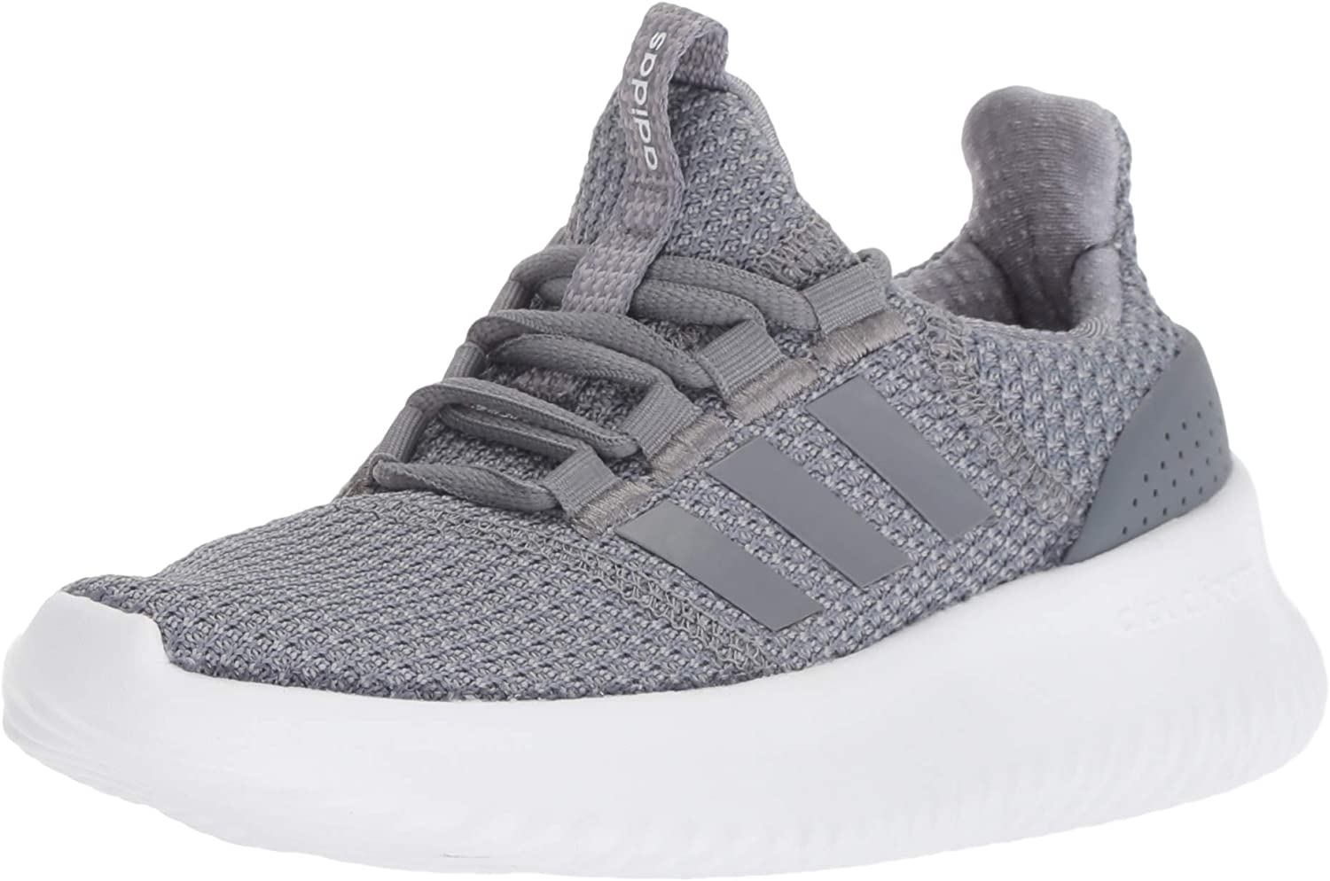 Adidas Womens Cloudfoam Ultimate Low Top Lace Up Running Sneaker