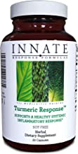 INNATE Response Formulas, Turmeric Response, Supports a Healthy Inflammation Response, 30 Capsules (30 Servings)