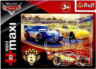 Trefl Cars Mini Maxi Puzzle For Boys- 20 Pieces