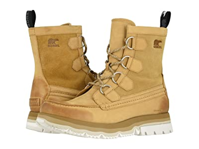 SOREL Atlistm Caribou Waterproof (Curry/Sea Salt) Men