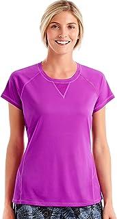 قميص نسائي شبكي رياضي الأداء من Hanes