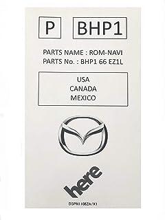 Mazda Version BHP166EZ1L Sd Card Navigation System CX-5 GPS Map Chip
