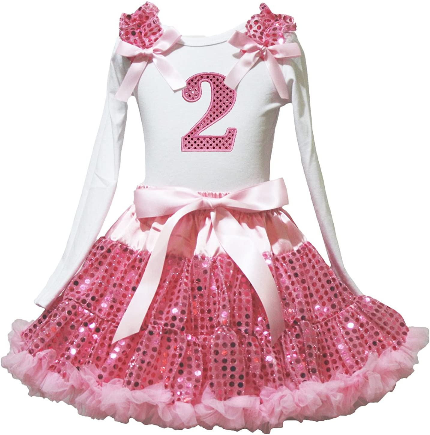 Petitebella Sequins 1st to 最新アイテム 5th White 18%OFF Pink s Shirt Pett L