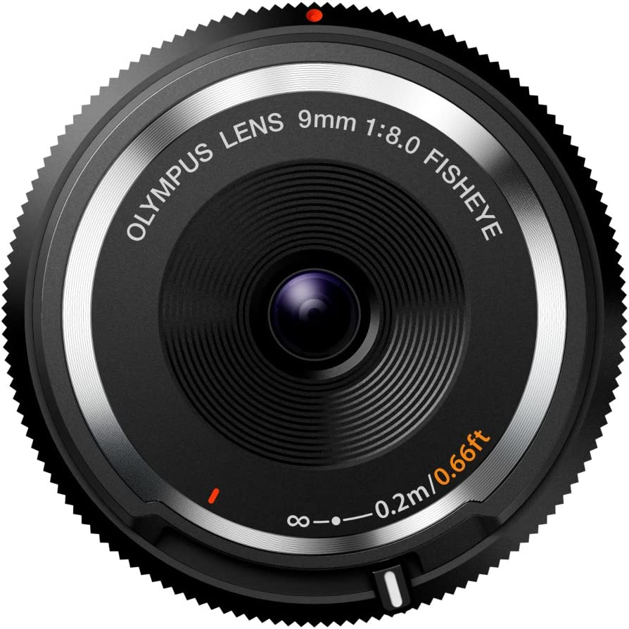 Olympus 9mm f8.0 Fisheye Body Cap Lens 67% OFF of fixed price Micro Ca 3 4 BCL-0980 New product for