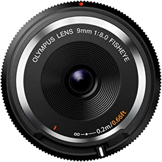 Olympus 9mm f8.0 Fisheye Body Cap Lens BCL-0980 for Micro 4/3 Cameras - International Version (No Warranty)